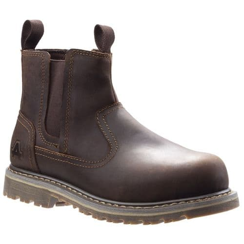 Amblers Safety AS101 Alice Ladies Safety Boots Brown